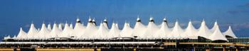Аэропорт города  Денвер