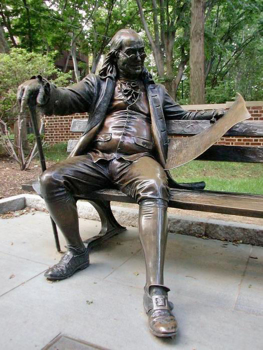 Памятник Бенджамину Франклину