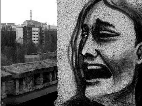 Топ 10 самых странных граффити припяти