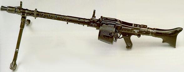 Пулемет MG34/42