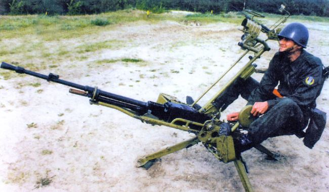 Крупнокалиберный пулемет НСВ-12.7 Утес