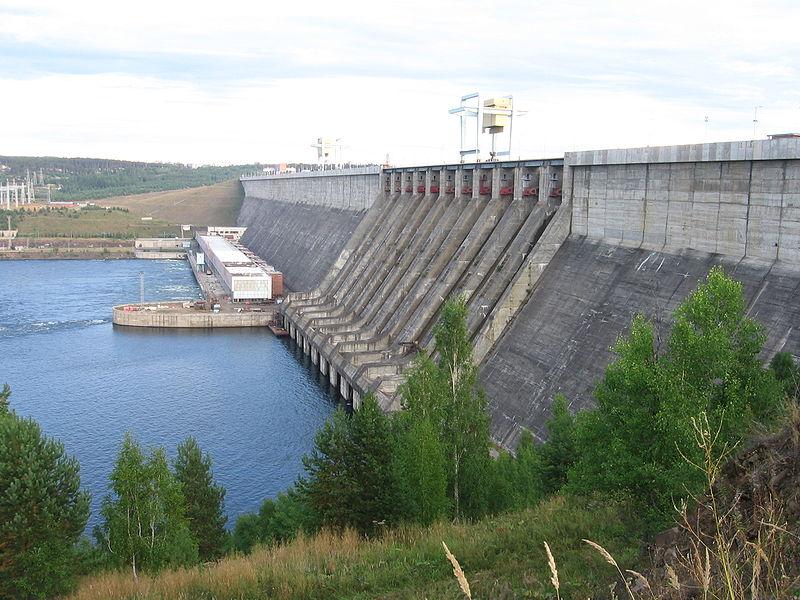 Усть-Илимская гидроэлектростанция