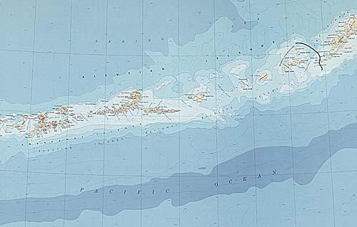 Цунами 1957 Аляска