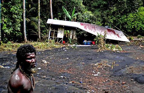 Цунами Соломоновы острова