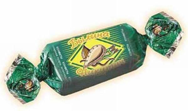 Обертки из под конфет