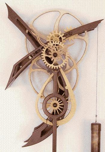 Деревянные часы Модель Т