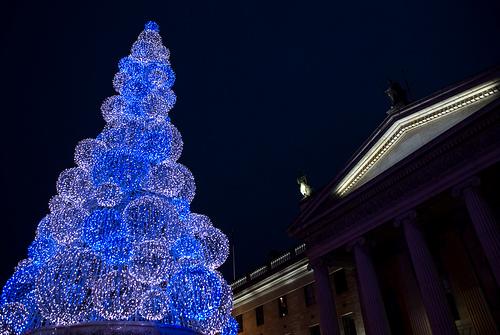 Светодиодная новогодняя елка