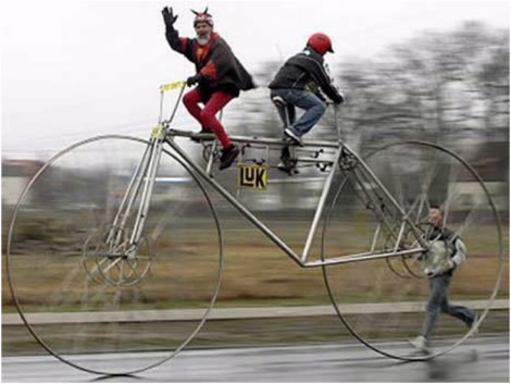 Самый длинный и самый высокий велосипед Vencile_09