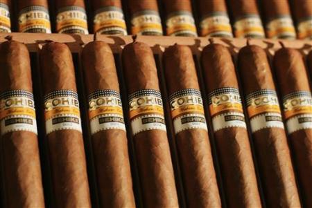 Коробка самых дорогих сигар