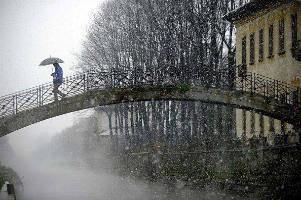 Зима 1210 года вновь заморозила реки Италии