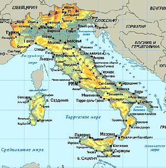 замёрзло всё Средиземное море