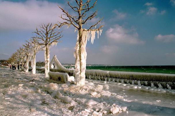 Зима в Щвейцарии