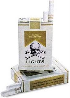 Я и так уже курю только супер-легкие сигареты
